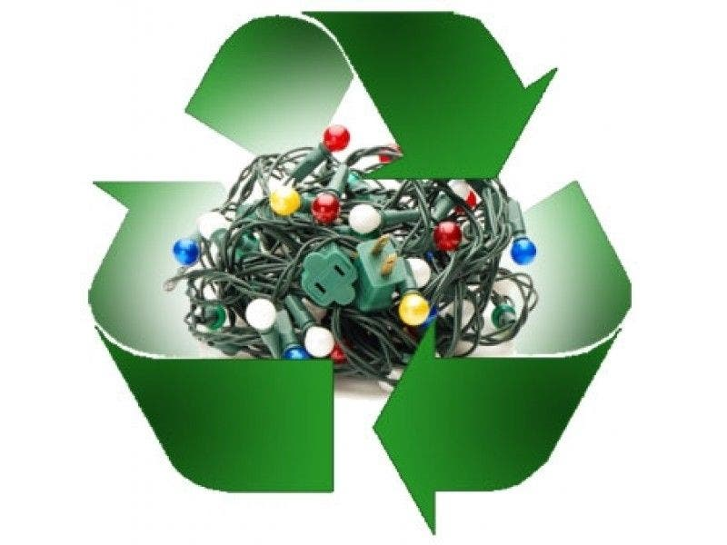 Deadline Extended For Holiday Lights Recycling At
