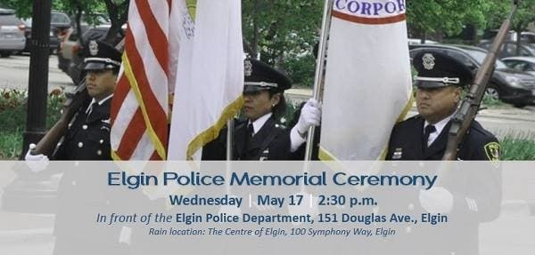Police Memorial Ceremony is Wednesday in Elgin | Elgin, IL Patch
