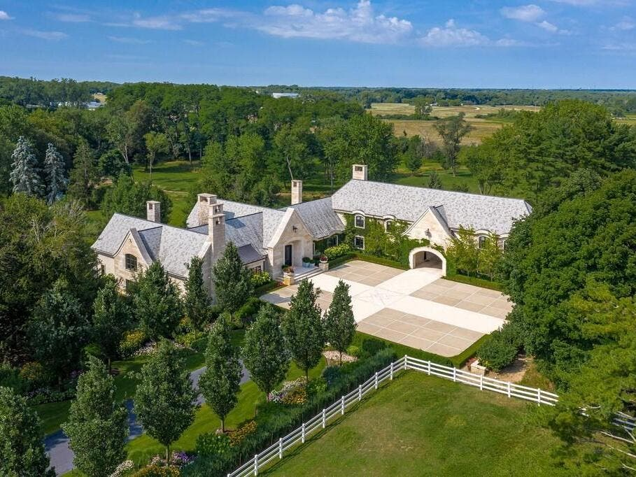 Equestrian Estate Selling For $7M: Wow! House