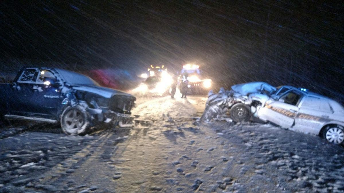 Virginia Weather: 527 Crashes in Snow Saturday, First Fatal Wreck