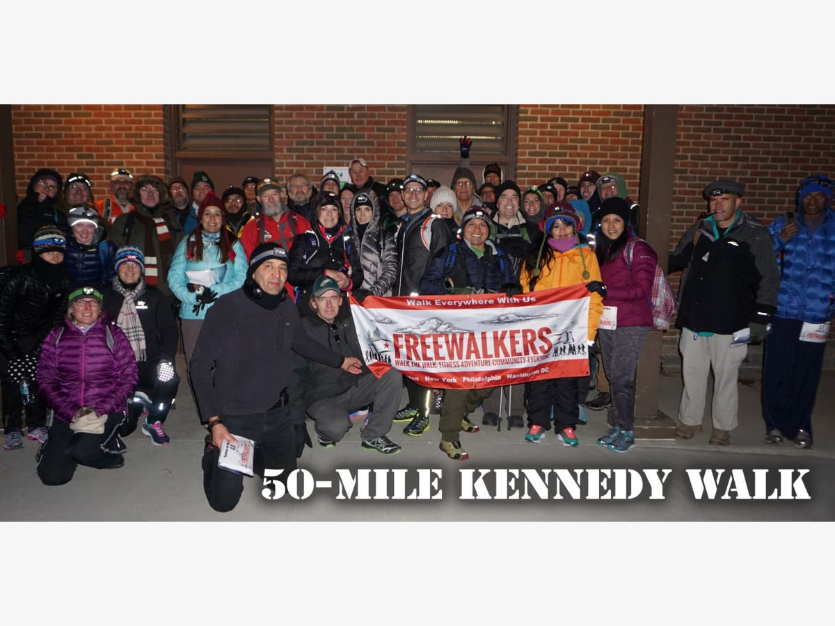 Relive The 60 S The Kennedy 50 Mile Hike Potomac Md Patch