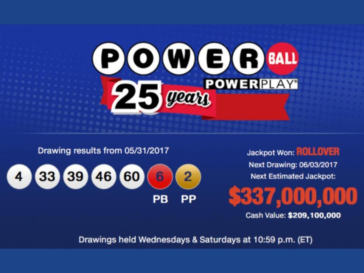 Powerball Vaults To 337 Million Concord Nh Patch