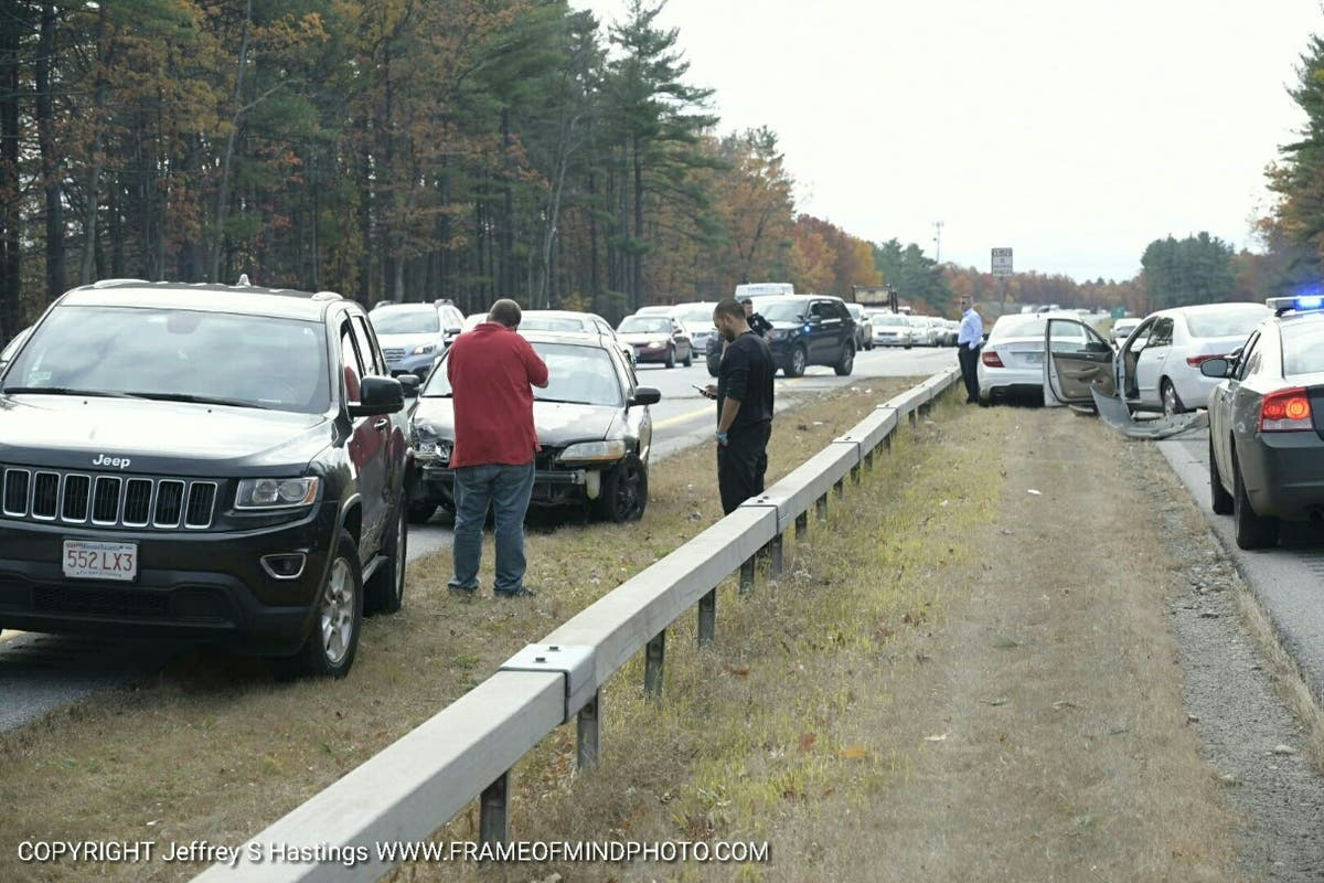 Multi-Vehicle Accident On Everett Turnpike | Merrimack, NH Patch