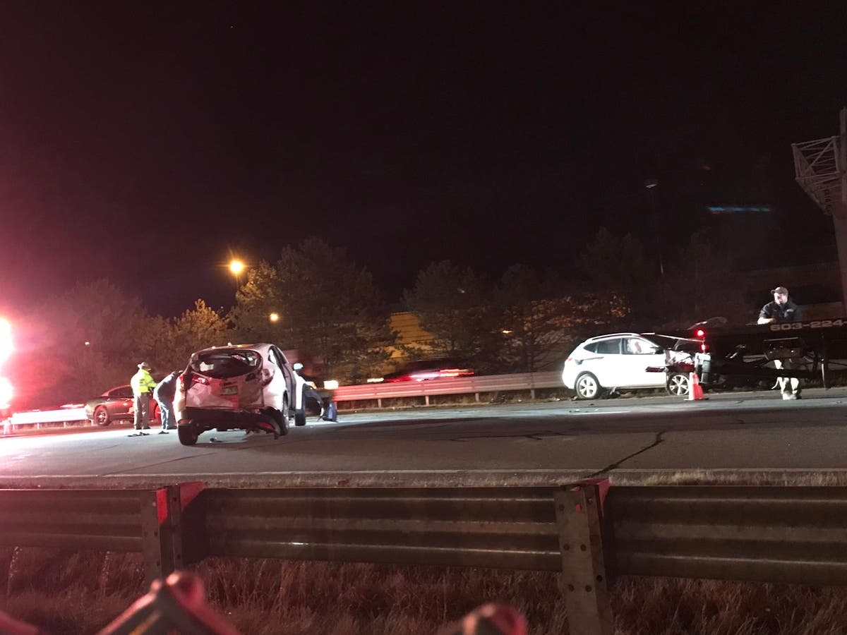Part Of I-93 In Concord Shut Down After Crash | Concord, NH