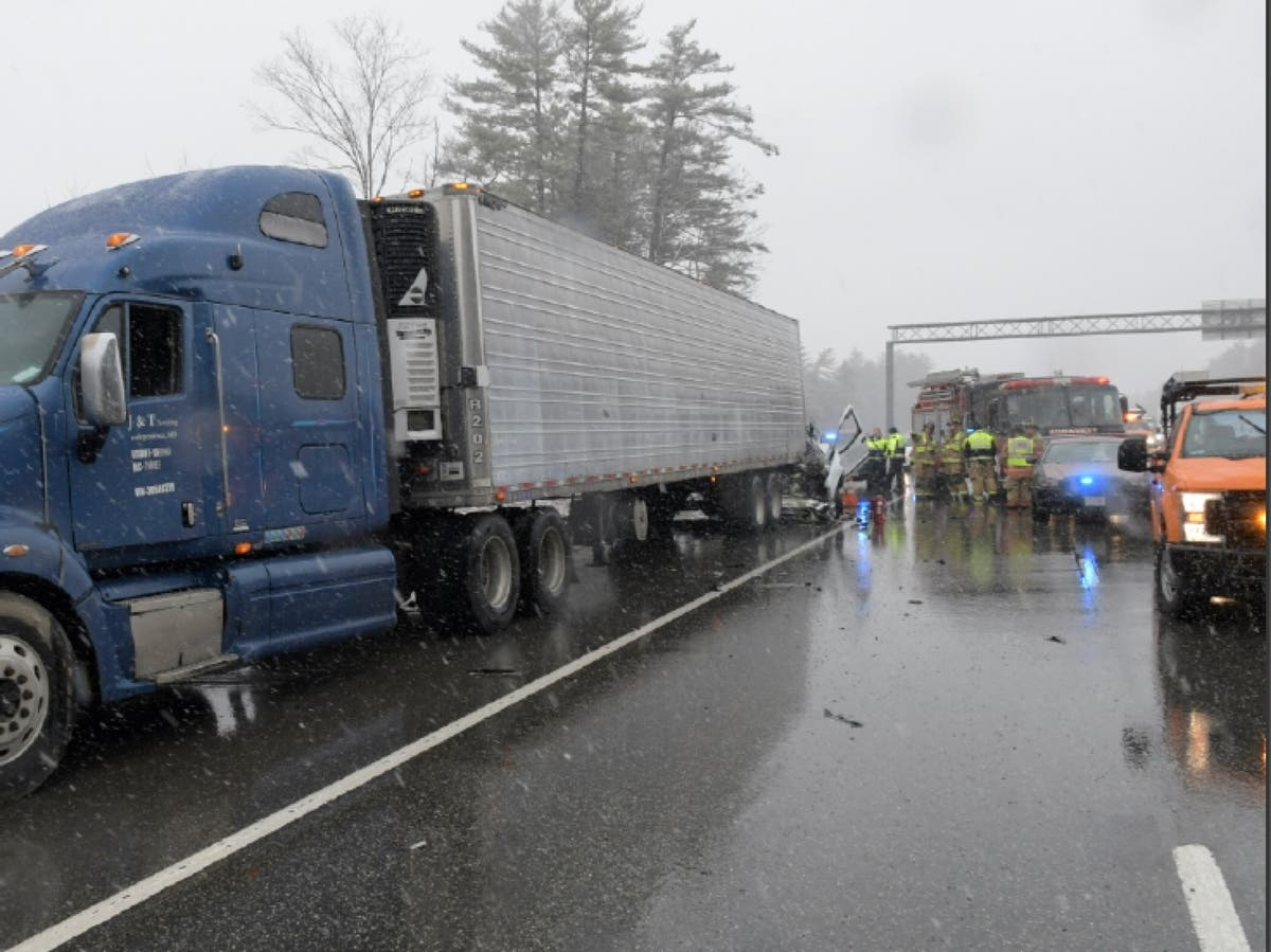 Fatal Crash Reported On I-93 | Concord, NH Patch
