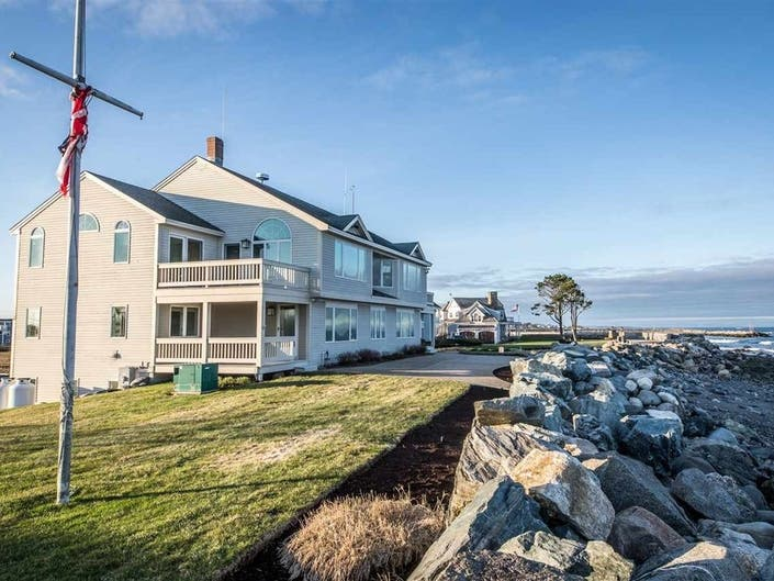 A Rye Harbor Home On The Market For The First Time