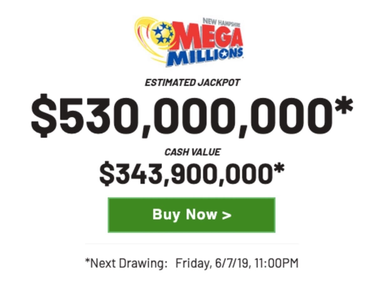 Friday's Mega Millions Expected To Reach $530M | Amherst, NH