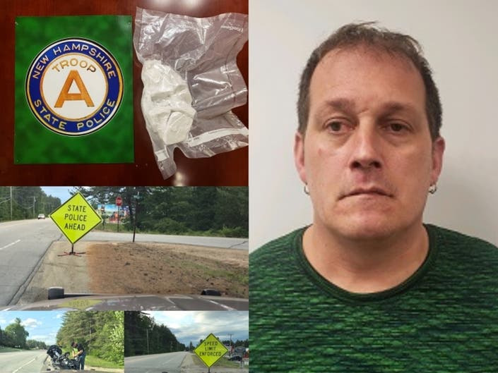 Stop For Speeding Leads To Half Pound Of Heroin/Fentanyl: NHSP
