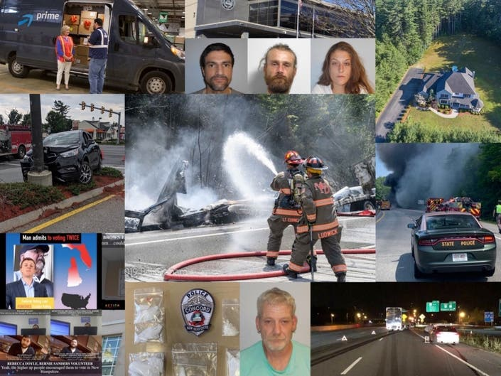 Tractor-Trailer Truck Crashes, Fires, And More: Nearby News