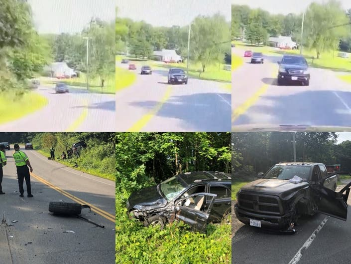 Watch Dashcam Catches Head On Collision In Pelham Nashua Nh Patch