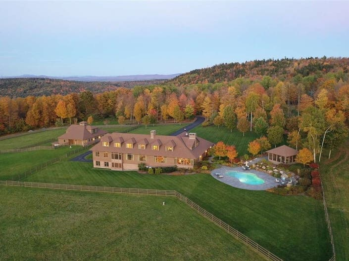 Windswept Farm Features 53-Acres, A Heated Salt Water Pool: Wow!
