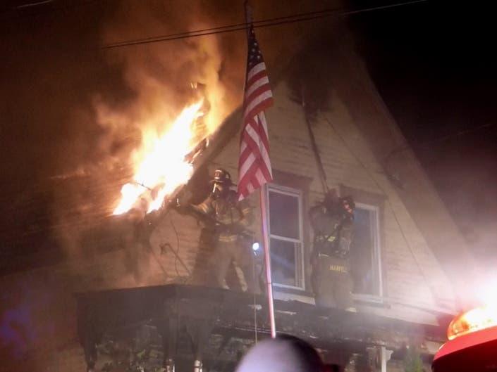 2-Alarm Fire Destroys Home In Franklin