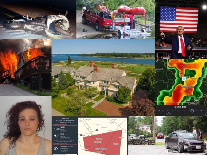 Crashes, Tornado Alert, Kayaker Found, And More: Nearby News
