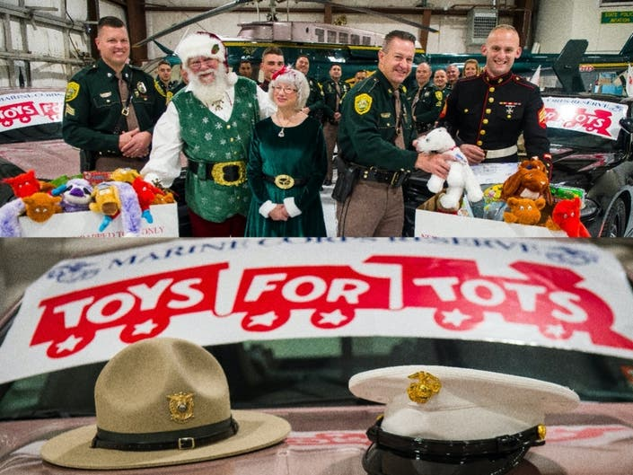 NH State Police, Marines Begin Toys For Tots Drives Saturday