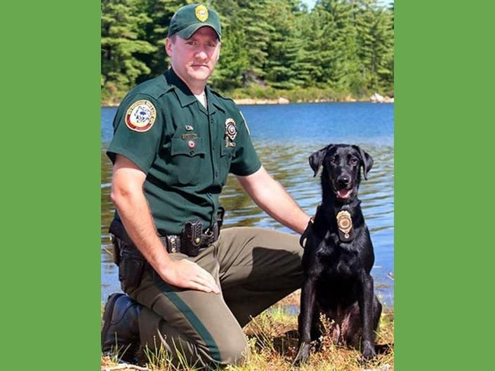 New Hampshire Fish & Game Says Goodbye To Beloved K-9 Ruby