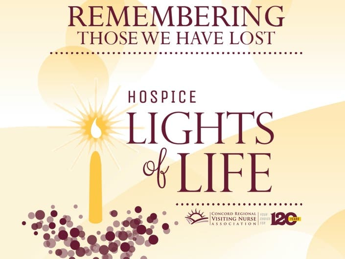 Concord Regional VNA Hosts Special Hospice Lights Of Life