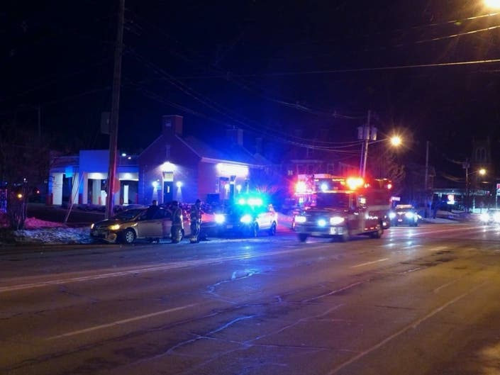 2-Vehicle Crash On Concords Main Street Sends 1 To The Hospital