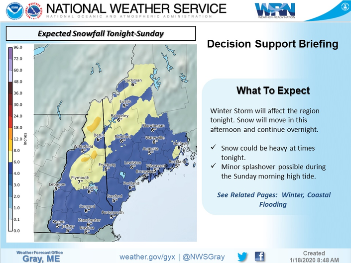 Juggernaut Snowstorm Heading To New Hampshire: Update