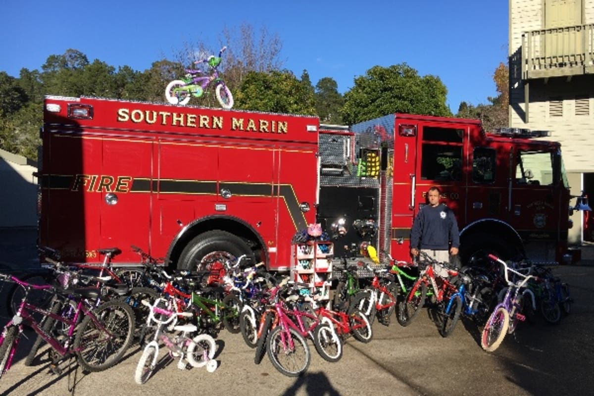 California Southern Marin CA Fire Dept Patch