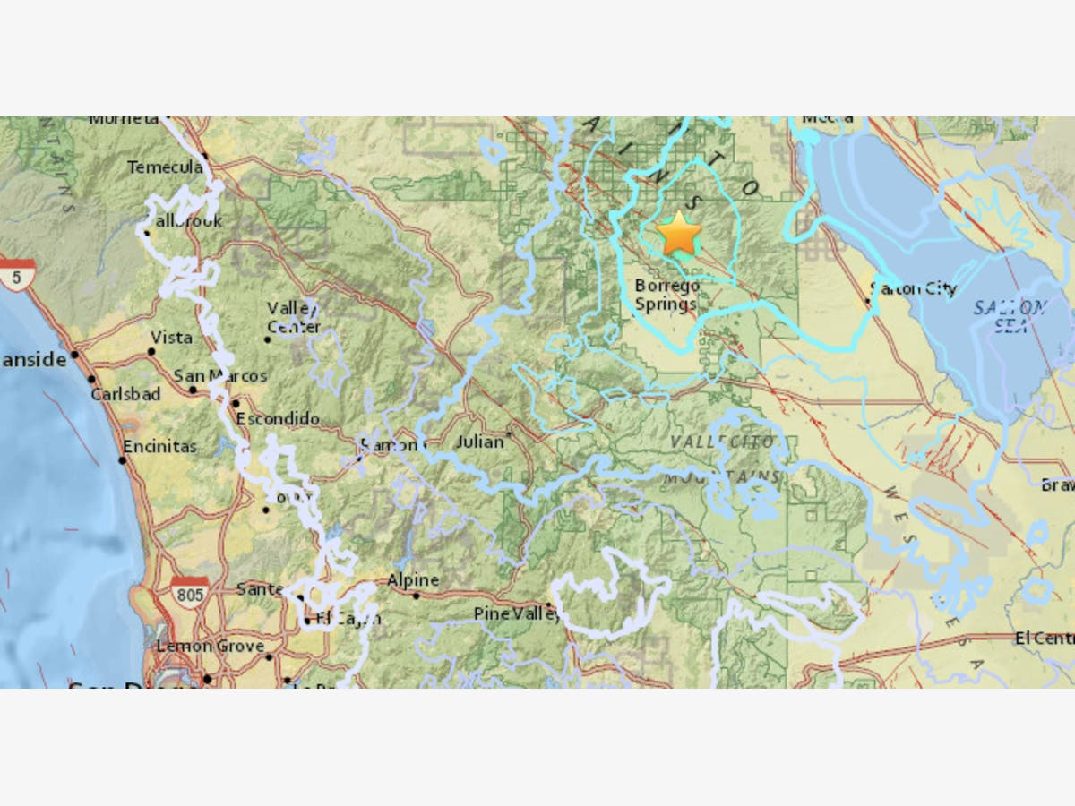 Earthquake Shakes East San Diego County Ramona Ca Patch