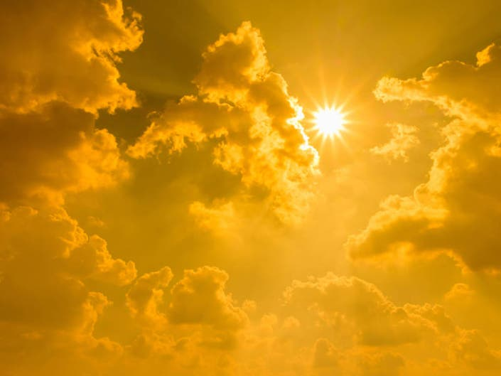 Mostly Sunny Santee Weather Forecast