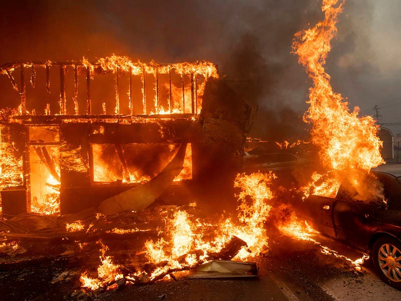 Camp Fire 9 Dead 6 700 Structures Destroyed In Butte