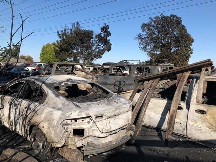 Cop Killer Dies; Fair Breaks Record; Fire Scorches Cars: Patch PM