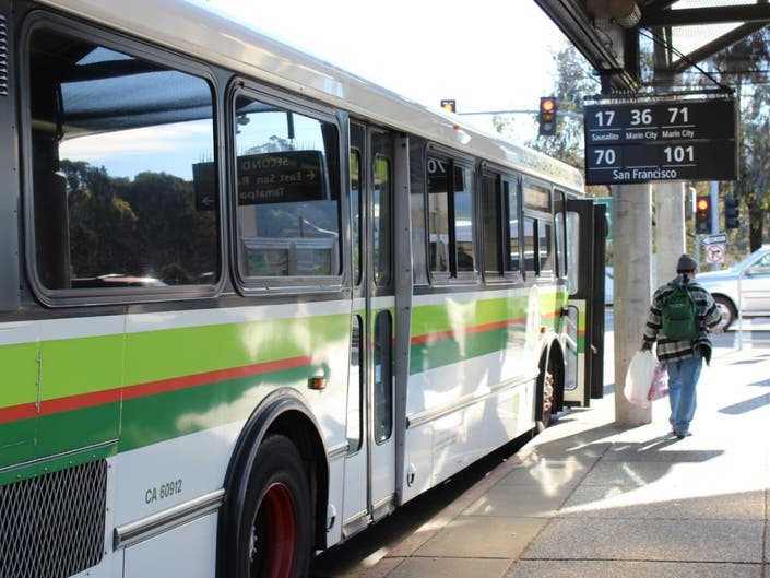 Golden Gate Changes Discontinues Bus Routes In Marin
