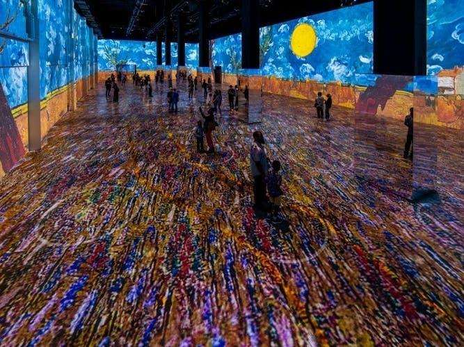 Immersive Van Gogh; SF Restaurant Week: NorCal Weekend