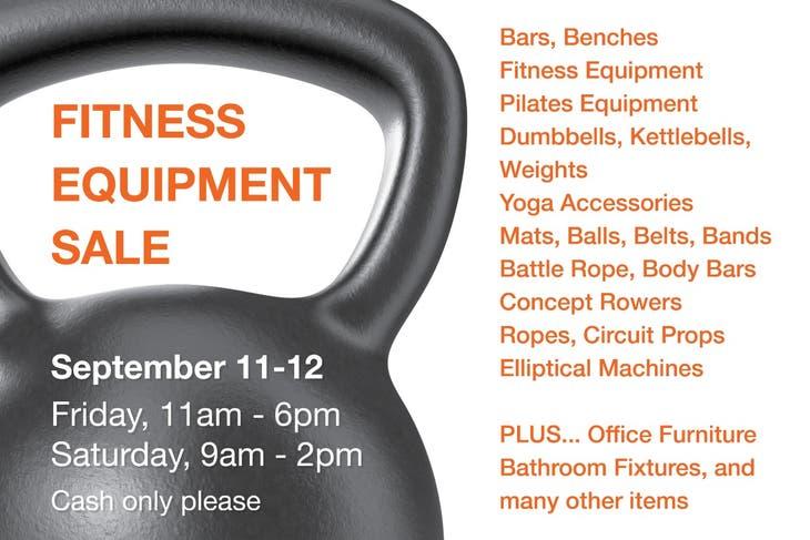 Nyack Fitness 2-Day Equipment Sale - 9/11 & 9/12
