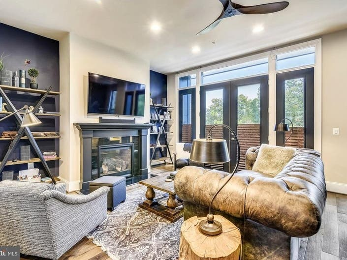 Look Inside: Luxurious 4-Story Ashburn Townhome Has Rooftop Deck