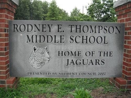 Rodney E. Thompson Middle School in Stafford was recognized as a 2019 Exemplary High Performing Schools National Blue Ribbon School.