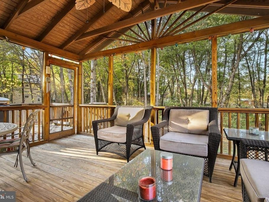 Woodbridge Home For Sale Features Year-Round Sunroom, Deck - Woodbridge, VA Patch