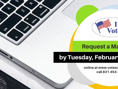 Last Day to Request a Ballot by Mail is Tuesday, February ...