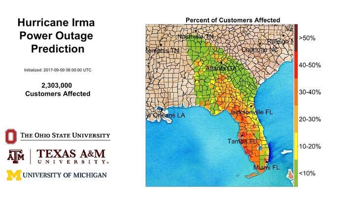 Hurricane Irma: Maryland Utility Companies Helping Florida, Georgia on