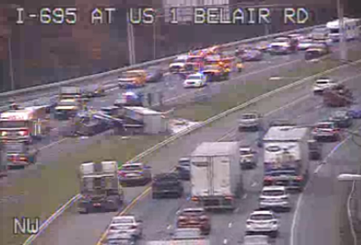 I-695 Crash Clears At Belair Road | Perry Hall, MD Patch
