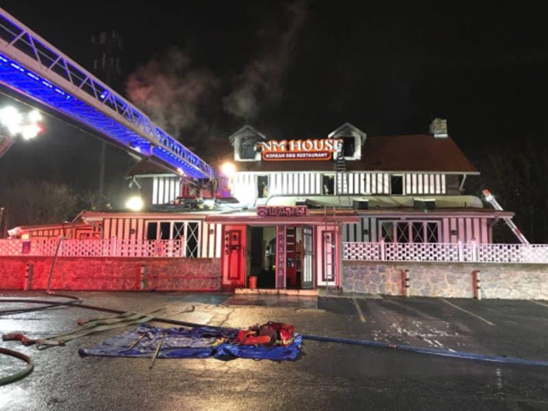 Fire At Korean Restaurant On Route 40 Under Investigation