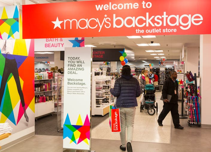 macy s has 750 stores as well as 70 and counting backstage locations currently the other backstage stores in maryland are in gaithersburg and hyattsville