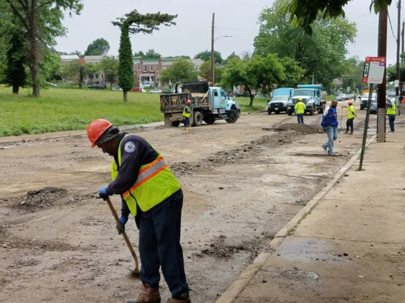 Frederick Avenue Closed After Flood Baltimore Md Patch