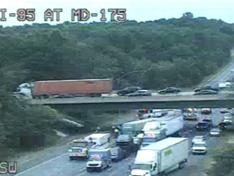 Major Crash On I-95 In Howard County Reported | Columbia, MD