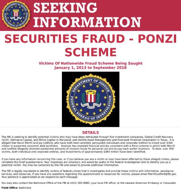 Towson Man Indicted In $364M National Ponzi Scheme | Towson