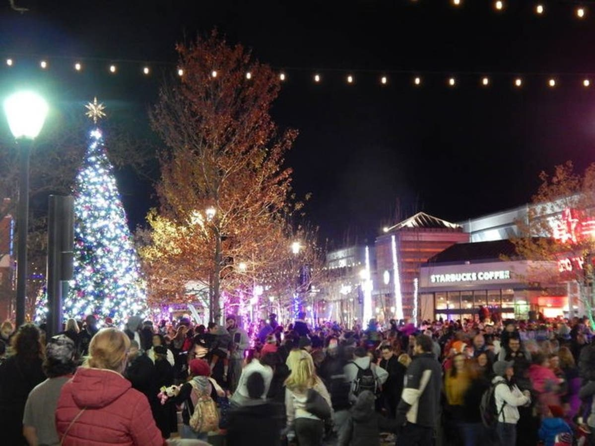 Tree Lights On University Avenue Are >> Tree Lighting On The Avenue At White Marsh Set For Friday Perry