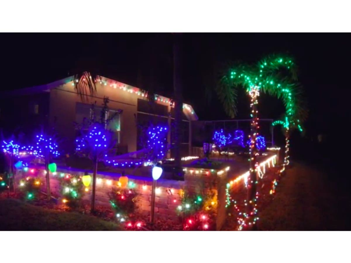 Florida Christmas.Best Christmas Lights In Florida Where Are They Across