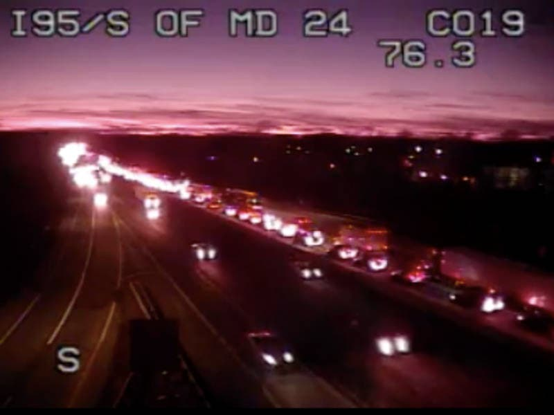 Deadly Harford County Crash Led To 4-Mile Delay On I-95: MDTA | Bel