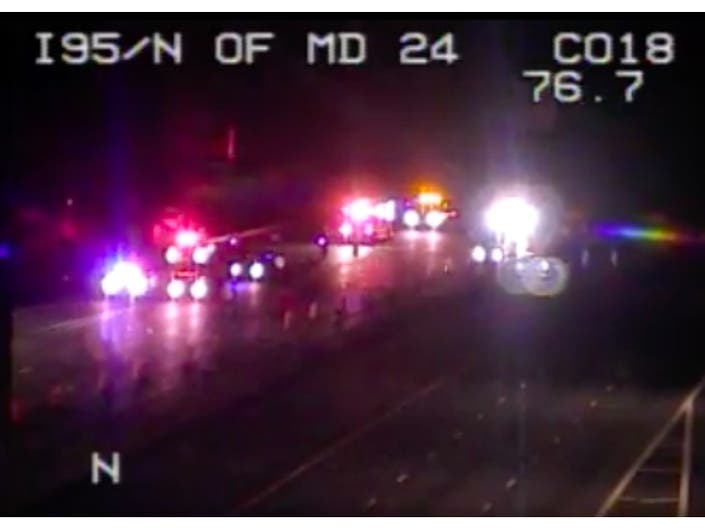 Accident 95 North Harford County