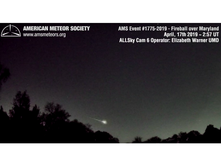 So Awesome: Perry Hall Residents See Meteor Show