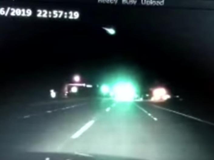 Meteor Caught On Officers Dash Cam In Maryland: Patch PM