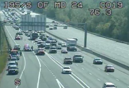 Lanes Reopen After I-95 Crash On Ramp To MD 24: Officials | Bel Air