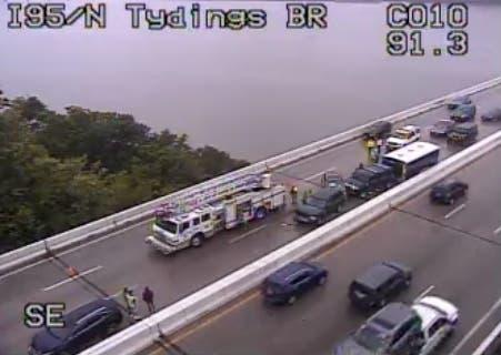 Tydings Bridge Crash Caused 2 5-Mile Backup, Injuries