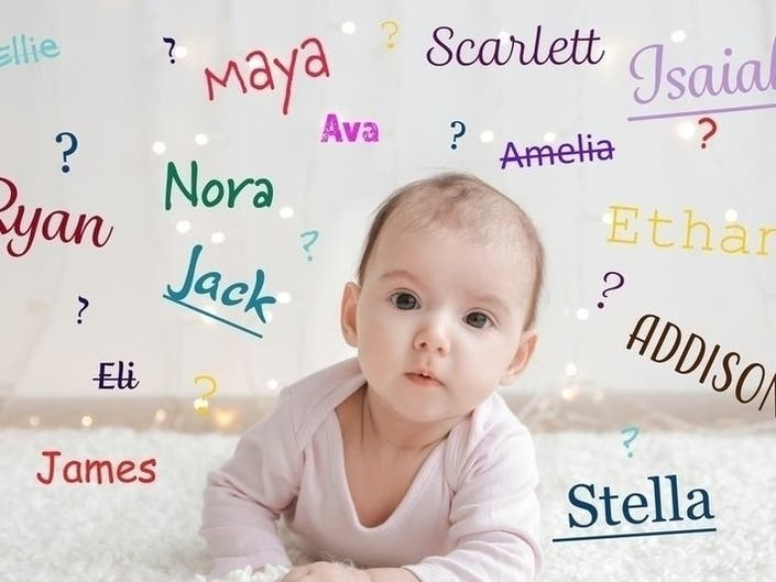 Most Popular Baby Names In Georgia For 2018